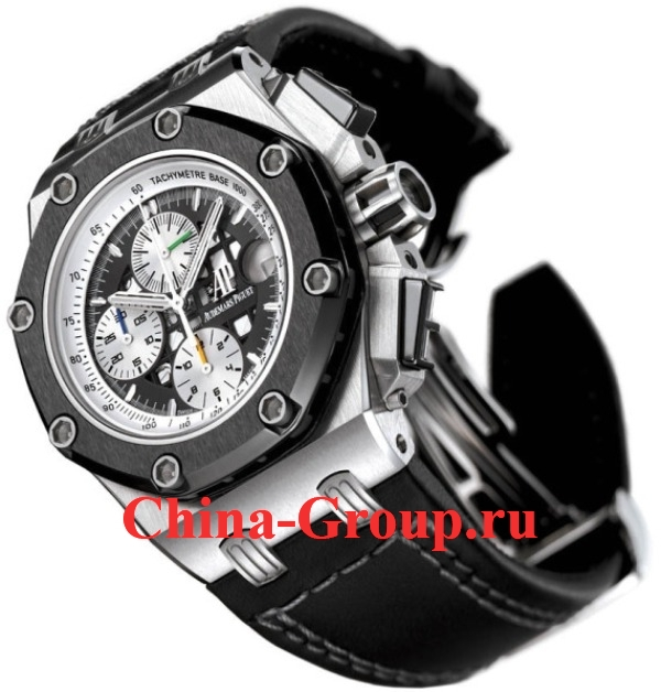 фото реплика Часы Audemars Piguet Royal Oak Offshore Rubens Barrichello Chronograph 26078IO.OO.D001VS.01 photo
