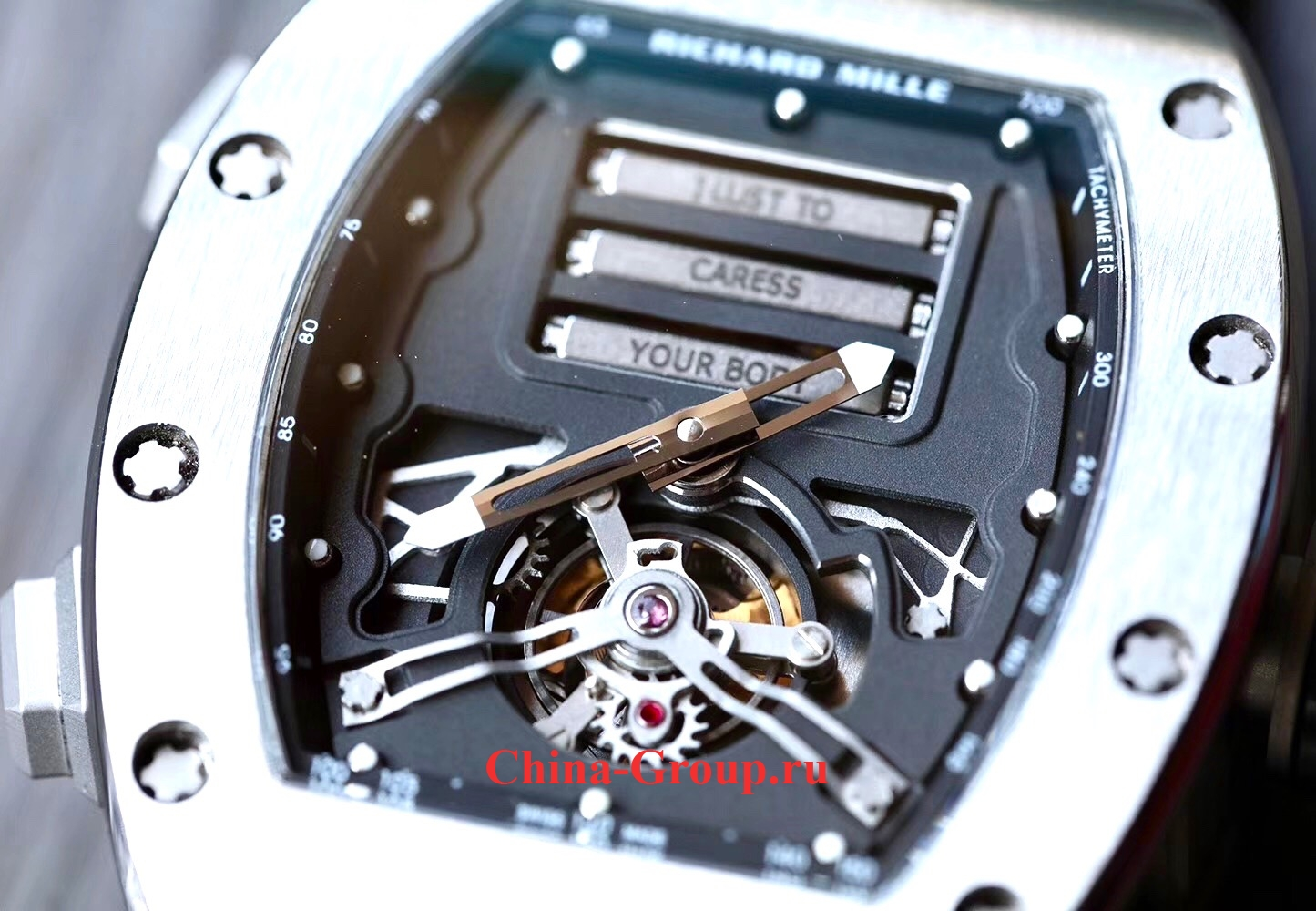 купить Клон Richard Mille Erotic Tourbillon RM069-001 как оригинал реплика photo