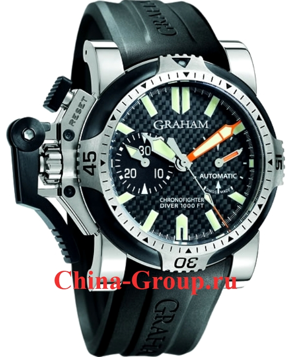 Часы Graham Chronofighter Oversize Diver Tech Seal 77610