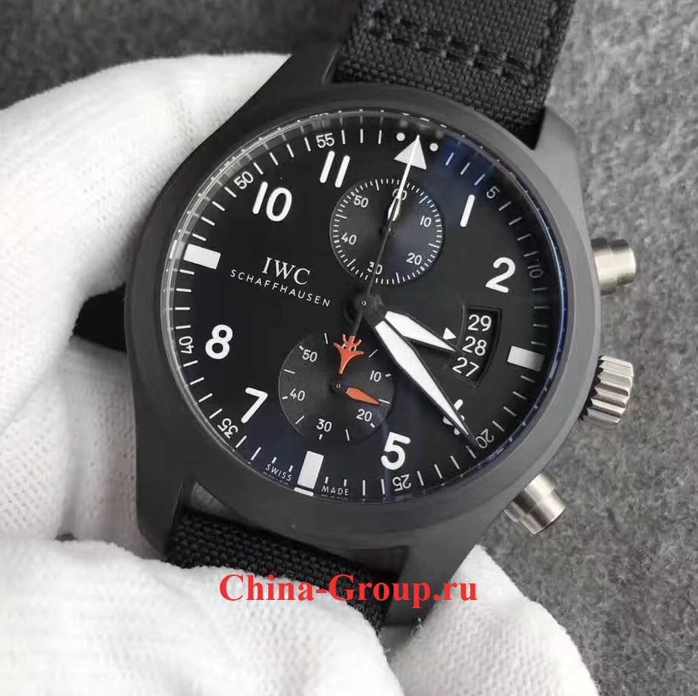 IWC Pilot Chronograph Top Gun 46mm Ceramic 388007