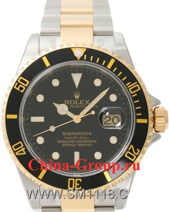 Часы Rolex Submariner Steel & Gold 00008
