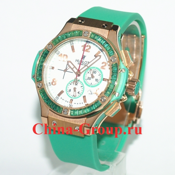 Часы Hublot Big Bang Tutti Frutti Green 60330