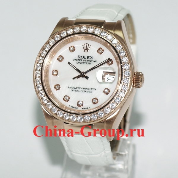 Часы Rolex Datejust White 90155