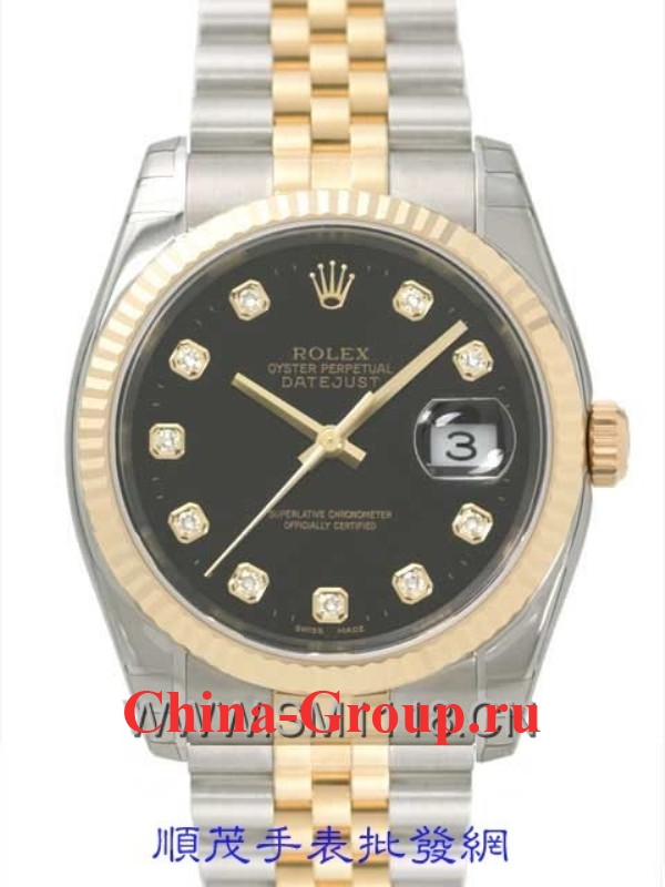 Часы Rolex Oyster Perpetual Datejust Steel & Gold 00082